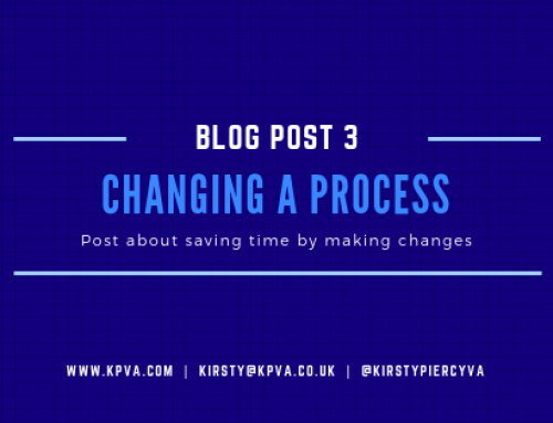 Changing a Process to Save Time