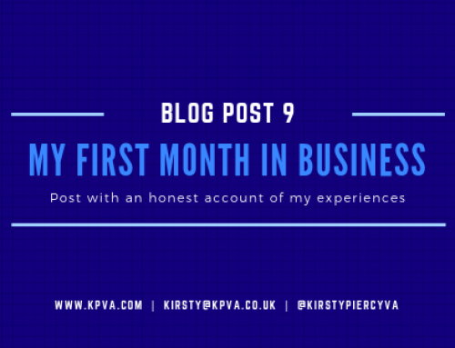 My first month in Business