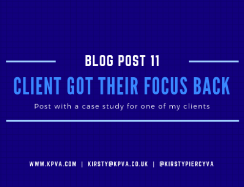 How my Client Got Their Focus Back